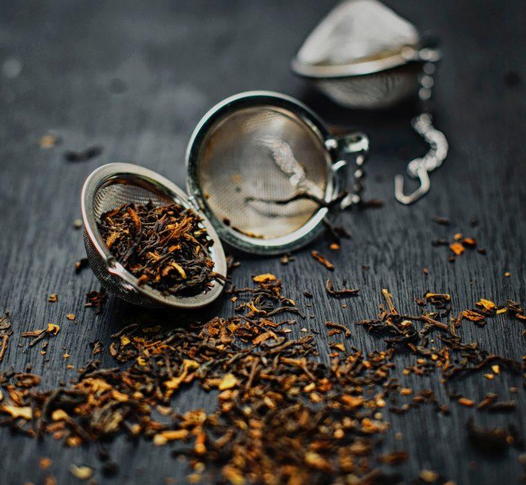 Man kann den Tee fast riechen.....